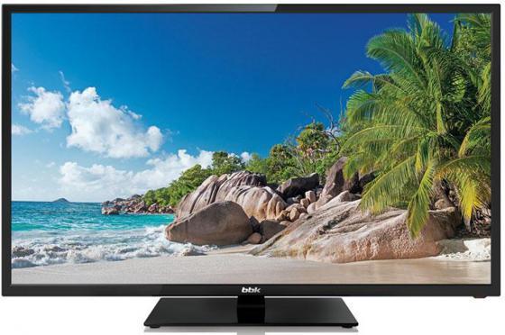 Телевизор LED 24 BBK 24LEM-1026/T2C черный 1366x768 50 Гц SCART VGA USB HDMI RJ-45 телевизор led 32 bbk 32lex 5026 t2c черный 1366x768 50 гц wi fi smart tv scart vga