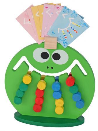 Логическая игрушка Краснокамская игрушка ЛИ-01 Лягушка краснокамская игрушка краснокамская игрушка конструктор эффект домино