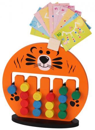 Логическая игрушка Краснокамская игрушка ЛИ-05 Тигренок логическая игрушка краснокамская игрушка счетики радуга сч 04