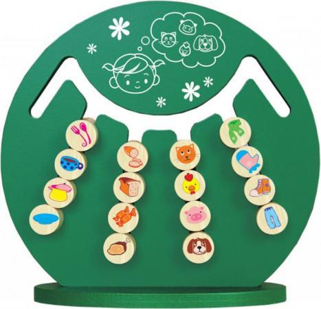 Логическая игра КРАСНОКАМСКАЯ ИГРУШКА ЛИ-14 Интеллект краснокамская игрушка развивающая пирамидка кольцевая