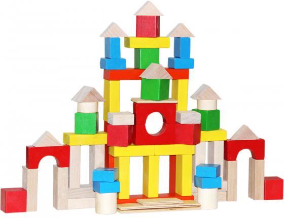 Конструктор Краснокамская игрушка НСК-05 Строим сами окрашенный краснокамская игрушка краснокамская игрушка конструктор строим сами неокрашенный