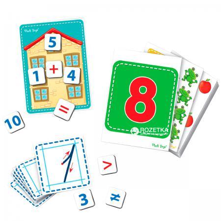 Настольная игра развивающая Vladi toys Дидактический материал с магнитами Математика VT3701-03 vladi toys игра слышим видим нюхаем vladi toys