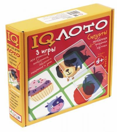 Настольная игра лото АЙРИС-ПРЕСС Силуэты (4+) 25300 раннее развитие айрис пресс обучающий набор учим английский играя уровень 4