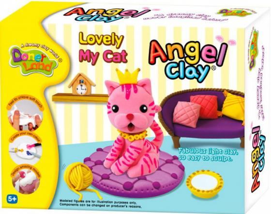 Масса для лепки Angel Clay Lovely my cat AA07021 angel clay аа07011s масса для лепки смешарики