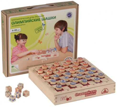 Логическая игрушка Краснокамская игрушка Олимпийские шашки ИГ-05 краснокамская игрушка развивающая пирамидка кольцевая