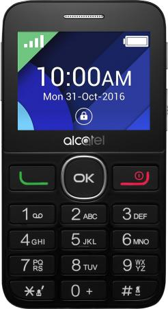 "Мобильный телефон Alcatel Tiger XTM 2008G черный 2.4"" 2008G-3EALRU1 мобильный телефон alcatel 2008g tiger xtm silver серебристый"