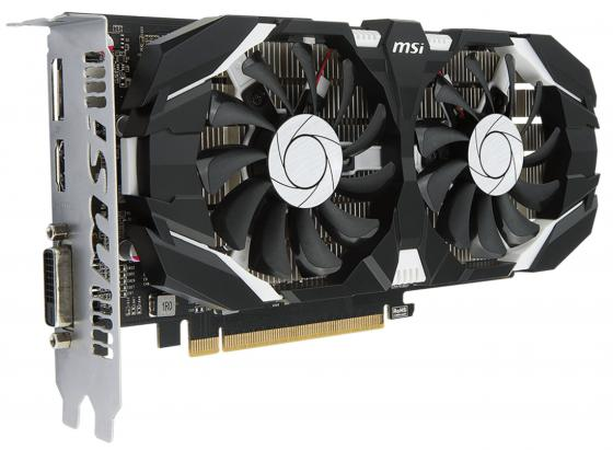 Видеокарта 4096Mb MSI GeForce GTX 1050 Ti 4GT OC PCI-E 128bit GDDR5 DVI HDMI DP HDCP GTX 1050 Ti 4GT OC Retail видеокарта 8192mb msi geforce gtx 1080 gaming x 8g pci e 256bit gddr5x dvi hdmi dp retail