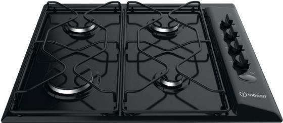лучшая цена Варочная панель газовая Indesit PAA 642 /I(BK) черный
