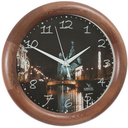 Часы настенные Вега Д1МД/7-129 рисунок разноцветный цена