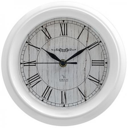 Часы настенные Вега П 6-7-31 белый часы настенные вега п 4 14 7 86 новогодние подарки