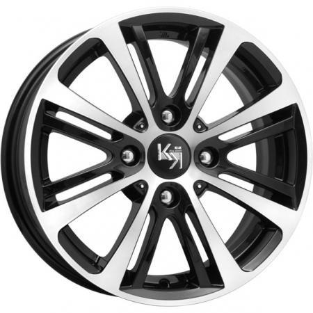 Диск K&K Беринг (КС648) 6.5xR15 4x100 мм ET39 Алмаз черный