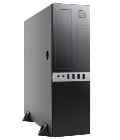 Корпус microATX Foxline FL-203 300 Вт чёрный