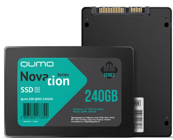 SSD Твердотельный накопитель 2.5 120GB QUMO QMM-120GSNND SATA kingfast ssd 128gb sata iii 6gb s 2 5 inch solid state drive 7mm internal ssd 128 cache hard disk for laptop disktop