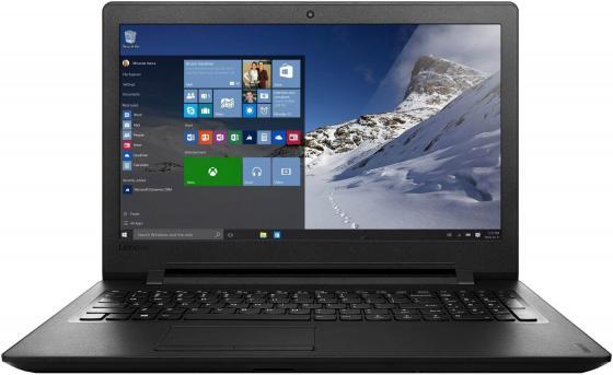 Ноутбук Lenovo IdeaPad 110-15IBR 15.6 1366x768 Intel Pentium-N3710 500 Gb 2Gb Intel HD Graphics 405 черный Windows 10 Home 80T700C5RK ноутбук asus f553sa xx305t 15 6 1366x768 intel celeron n3050 500gb 2gb intel hd graphics черный windows 10 home 90nb0ac1 m06000