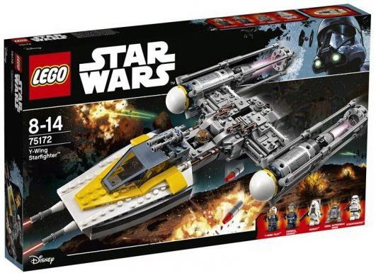 Конструктор Lego Star Wars Звёздный истребитель типа Y™ 740 элементов 05065 genuine star wars y wing starfighter lepin building blocks bricks educational toys gift compatiable with lego kid gift set