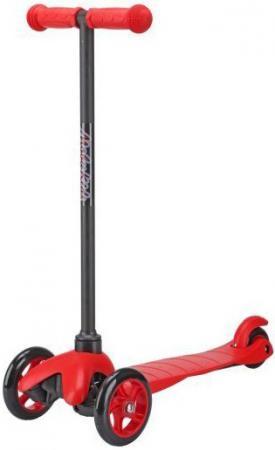 Самокат трехколёсный Moby Kids 2 в 1 с управлением наклоном красный 64965 моби moby play 2 lp