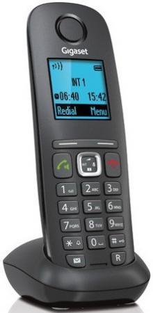 Радиотелефон DECT Gigaset A540H черный радиотелефон