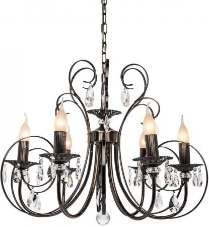 Подвесная люстра Silver Light Vienna 155.59.6 подвесная люстра silver light vienna 155 59 6