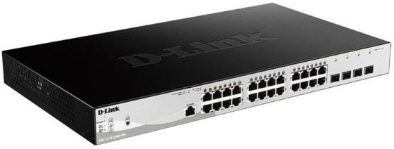 Фото - Коммутатор D-Link DGS-1210-28/ME/B1A управляемый 24 порта 10/100/1000Mbps 4xSFP коммутатор d link dgs 1100 24 me b2a управляемый 24 порта 10 100 1000mbps easysmart