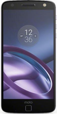 Смартфон Motorola Moto Z черный 5.5 32 Гб NFC LTE Wi-Fi GPS 3G XT1650-03 SM4389AE7U1 motorola moto z 4гб 64гб смартфон