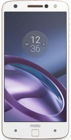 "Смартфон Motorola Moto Z золотистый 5.5"" 32 Гб NFC LTE Wi-Fi GPS 3G XT1650-03 SM4389AD1U1 цена и фото"
