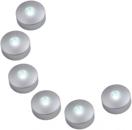 Потолочный светодиодный светильник (08933) Uniel 4500K ULM-R04-1W*6/NW цена и фото