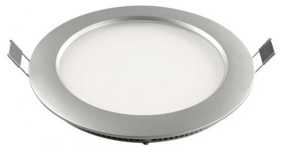 Светодиодный встраиваемый светильник (04745) Uniel 4500K ULP-R180-10/NW Silver потолочный светодиодный светильник 09914 volpe 6500k ulp q101 6060 33w dw silver