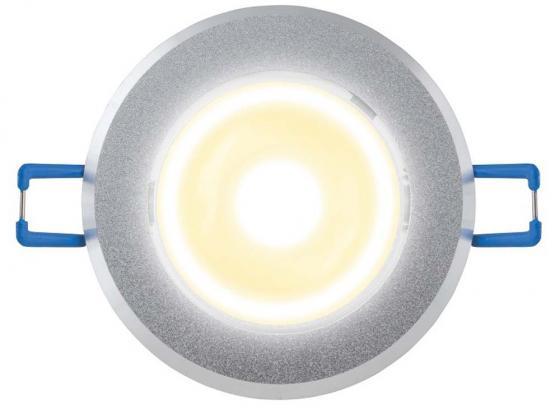 Светодиодный встраиваемый светильник (07621) Uniel 4500K ULM-R31-5W/NW IP20 Sand Silver 5w 940nm infrared ir led emitter silver