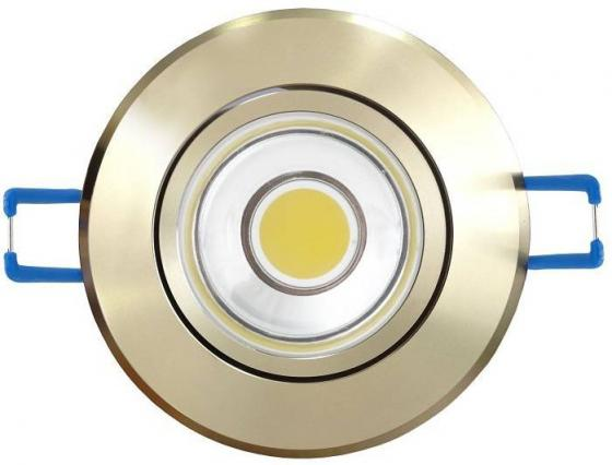 Светодиодный встраиваемый светильник (08788) Uniel 4500K ULM-R31-5W/NW IP20 Gold светодиодный встраиваемый светильник 08786 uniel 4500k ulm r31 5w nw ip20 black chrome