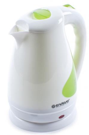 Чайник ENDEVER 342-KR 2100 Вт белый 1.7 л пластик утюг endever 710 endever 1000вт белый синий