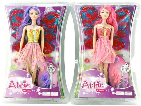 Кукла Shantou Gepai Abbie Фея, с аксесс., в ассорт..29 см B042 кукла shantou gepai abbie модница 29 см ab024 в ассортименте