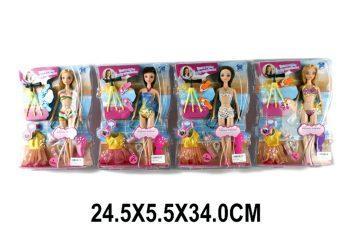 Кукла Shantou Gepai Летние каникулы в ассорт., кор.29 см LS10071 shantou gepai игрушка пластм палочка свет 32 см в ассорт shantou gepai