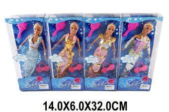Кукла Shantou Gepai Русалка  с аксесс, в ассорт., кор.29 см LS20154