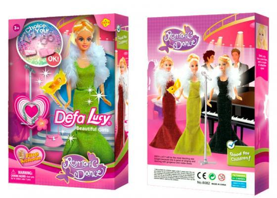 Кукла Defa Luсy На балу, в ассорт., кор 8082 кукла defa lucy модная white light blue 8316bl