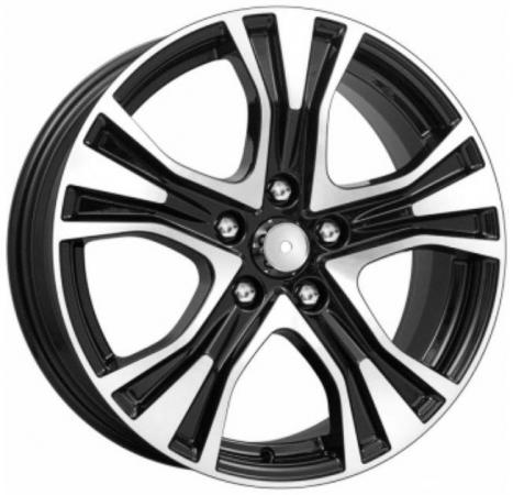 Диск K&K Toyota Camry КСr673 7xR17 5x114.3 мм ET45 Алмаз черный 63568 toyota camry