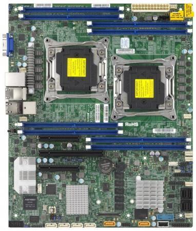 Материнская плата Supermicro MBD-X10DRL-IT-O 2 х Socket 2011-3 C612 8xDDR4 1xPCI-E 16x 2xPCI-E 8x 6xSATAIII ATX Retail jeff mcwherter professional mobile application development