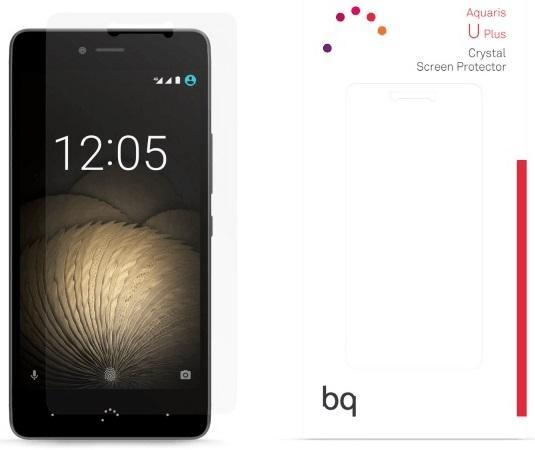 Пленка защитная BQ для BQ Aquaris U Plus E000714 сотовый телефон bq aquaris u plus 32gb black
