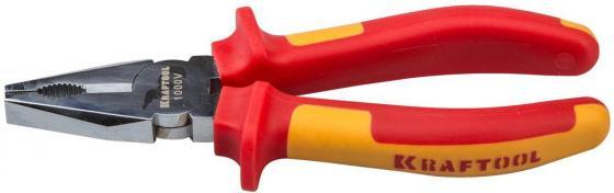 Плоскогубцы Kraftool ELECTRO-KRAFT 180мм 2202-1-18_z01 набор губцевых инструментов kraft max 4 штуки kraftool 22011 h4