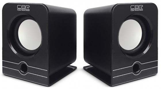 Колонки CBR CMS 303 2x3 Вт черный