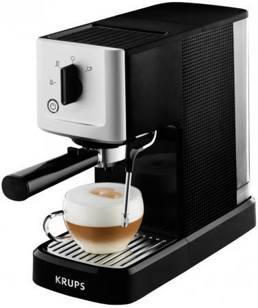 Кофемашина Krups XP344010 1460 Вт черно-серебристый krups xp 528030