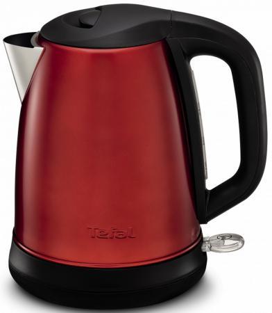 Чайник Tefal KI270530 2400 Вт красный 1.7 л металл чайник электрический tefal ko 270130