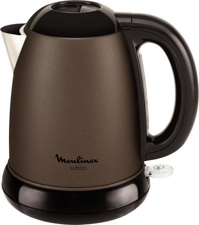Чайник Moulinex BY540F30 2200 Вт коричневый 1.5 л металл 7211002509