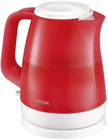 Чайник Tefal KO151530 2400 Вт красный 1.5 л пластик чайник электрический tefal ko 270130
