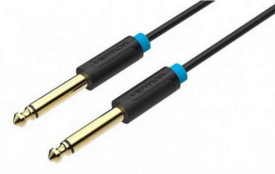 Кабель соединительный 1.5м Vention 6.35 Jack (M) - 6.35 Jack (M) BAABG кабель соединительный 3 0м vention 3 5 jack m 3 5 jack m плоский vab a08 s300
