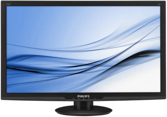 Монитор 27 Philips 273E3LHSB/00 черный TN 1920x1080 300 cd/m^2 4 ms DVI HDMI VGA Аудио монитор philips bdm3270qp2 page 4