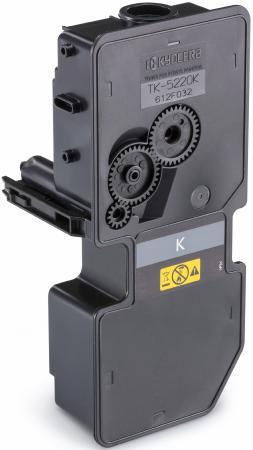 Картридж Kyocera TK-5220K для Kyocera P5021cdn/cdw P5026cdn/cdw M5521cdn/cdw M5526cdn/cdw черный 1200стр картридж kyocera tk 5230k 1t02r90nl0 для kyocera p5021cdn cdw m5521cdn cdw черный