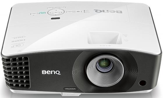 Купить Проектор BENQ MU686 1920x1200 3500 люмен 20000:1 белый черный 9H.JFM77.13E, черный, белый