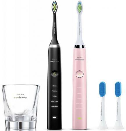 Зубная щётка Philips Sonicare 3 Series gum health HX9368/35 розовый/черный радиобудильник philips aj3400 12 черный