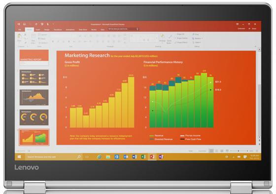Ноутбук Lenovo IdeaPad Yoga YG710-11IKB 11.6 1920x1080 Intel Core i5-7Y54 SSD 256 8Gb Intel HD Graphics 615 серебристый Windows 10 Home 80V6000GRK