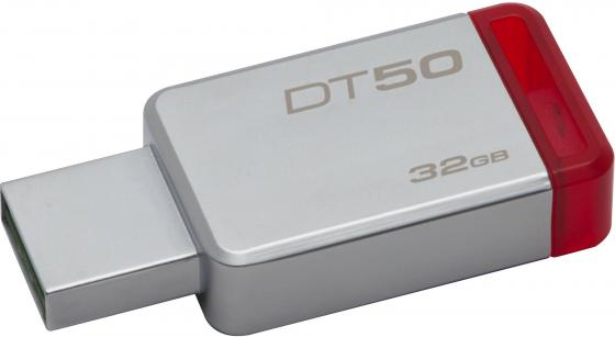 Флешка USB 32Gb Kingston DataTraveler 50 DT50/32GB красный